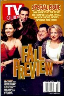 TV Guide   September 30   October 6, 2000 Fall Preview   Special Issue The biggest of the year Geena Davis, Michael Richards, John Goodman, Bette Midler Cover (Volume 48 Number 40) Editors of TV Guide Books