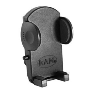 RAM MED BLACK MOBILE PHONE HOLDER, Manufacturer: RAM MOUNT, Manufacturer Part Number: RAM HOL UN2 AD, Condition: New, Stock Photo   Actual parts may vary.: Automotive