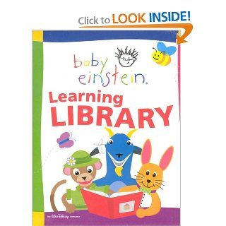 Baby Einstein Learning Library; 12 books, including: Lets Explore; With baby, Nature, Rhymes, Art, Languages, Poetry, Colors, Shapes, Numbers, Animals, ABC's of Art A M, ABC's of Art N Z.: Walt Disney Company: 9780786846160: Books