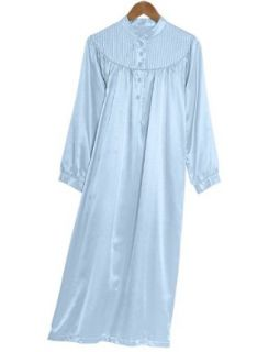 National Brushed Back Satin Nightgown, Pink, 3X   Misses, Womens at  Women�s Clothing store