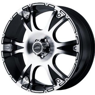 American Racing Dagger 16x8 Machined Black Wheel / Rim 8x6.5 with a 10mm Offset and a 125.50 Hub Bore. Partnumber AR88968080310: Automotive