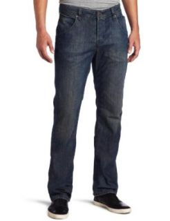 Volcom Men's Nova Straight Leg Jean, Norion Wash, 28 at  Men�s Clothing store