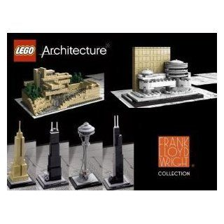 Lego Architecture Set of 7 Kits: The White House, Fallingwater, Guggenheim, S: Toys & Games