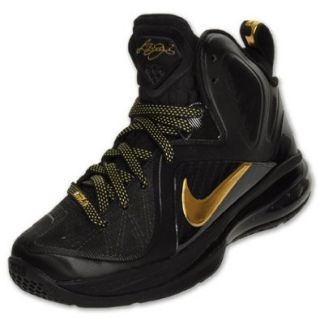 Nike Lebron 9 P.S. Playoff Series Elite (GS) Boys Basketball Shoes 518215 001 Black 7 M US: Shoes