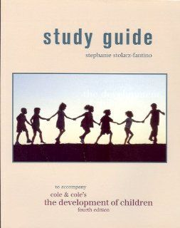 The Development of Children (Study Guide) (9780716738367): Stephanie Stolarz Fantino, Michael Cole, Sheila R. Cole: Books