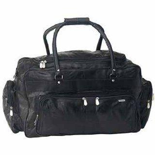 "USA Wholesaler  5339857 Italian 23"" Lambskin Leather Travel Bag  General Sporting Equipment  Sports & Outdoors"