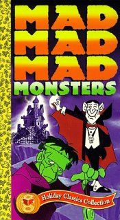 Mad Mad Mad Monsters [VHS]: Allen Swift, Bradley Bolke, Rhoda Mann, Bob McFadden, Arthur Rankin Jr., Jules Bass, Basil Cox, Lou Silverstone, William J. Keenan: Movies & TV