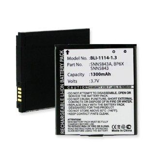 1300mA, 3.7V Replacement Li Ion Battery for Motorola MB200 Cell Phones   Empire Scientific #BLI 1114 1.3: Everything Else