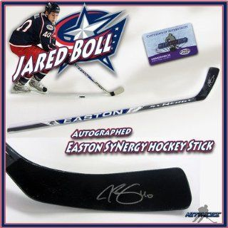 Jared Boll Autographed Stick   EASTON w COA   Autographed NHL Sticks: Sports Collectibles