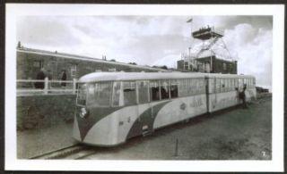Streamline Cog Railway Train Pike's Peak CO photo 30s Collectibles & Fine Art