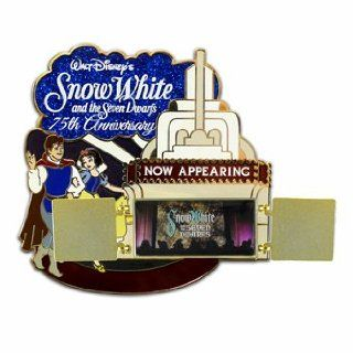 Disney Trading Pins   Walt Disney World Exclusive Theme Park Merchandise   Snow White 75th Anniversary Jumbo Pin   Limited Edition