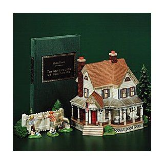 Department 56 #56.58600 Literary Classics The Adventures of Tom Sawyer Aunt Polly's House   Collectible Buildings