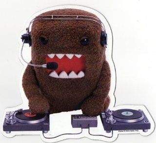Domo Japanese Cartoon Car Magnet   DJ Record Scratchin Brown Domo: Everything Else