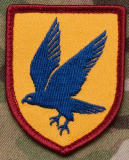 Blue Falcon Morale Patch: Clothing