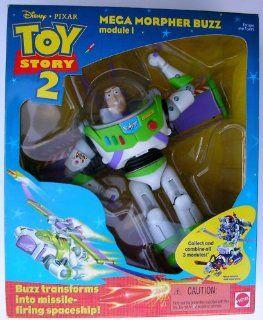 Disney Toy Story Buzz Lightyear Mega Morpher Module I Action Figure Mattel U.S. Edition Toys & Games