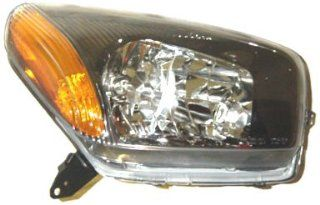 OE Replacement Toyota RAV4 Passenger Side Headlight Assembly Composite (Partslink Number TO2503149): Automotive