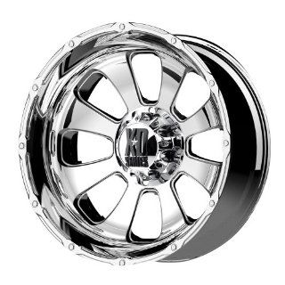 "KMC Wheels XD Series Armour XD7992 Chrome Finish Wheel (20x12""/8x6.5""): Automotive"