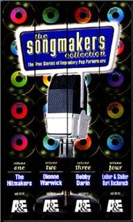 The Songmakers Collection [VHS]: Burt Bacharach, Bobby Darin, Neil Diamond, Connie Francis, Carole King, Jerry Leiber, Phil Ramone, Neil Sedaka, Mike Stoller, Dionne Warwick, John Griffin, Morgan Neville: Movies & TV