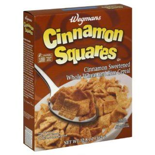 Wgmns Cereal, Cinnamon Squares, 12.8 Oz ( Pak of 6 ) : Cold Breakfast Cereals : Grocery & Gourmet Food