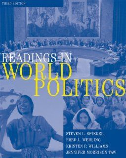 Readings in World Politics (9780155060555): Steven L. Spiegel, Jennifer Morrison Taw, Fred L. Wehling, Kristen Williams: Books