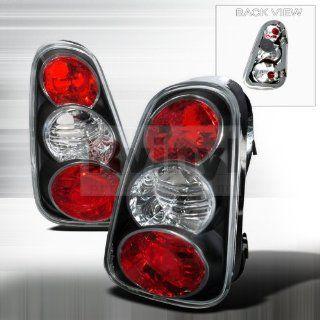 Mini Cooper Base/ Mini Cooper S Black Altezza Tail Lights Automotive