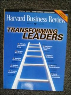 Harvard Business Review Magazine, January 2009 Transforming Leaders (Volume 87, Number 1): Harvard Business Review Magazine: Books