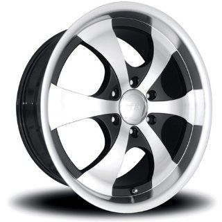 MST 710 22 Machined Black Wheel / Rim 6x135 with a 30mm Offset and a 86.87 Hub Bore. Partnumber 710 22936: Automotive