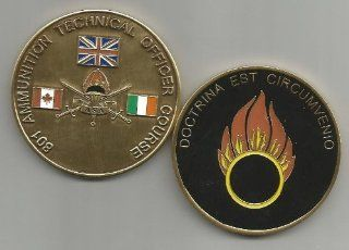 801 Ammunition Technical Officer Course Challenge Coin