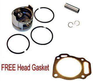 Honda GX390 13 hp PISTON & RINGS & FREE HEAD GASKET  Lawn Mower Parts  Patio, Lawn & Garden