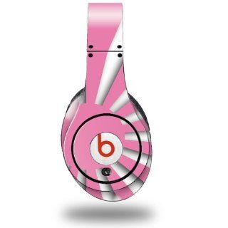 Rising Sun Japanese Flag Pink Decal Style Skin (fits ORIGINAL Beats Studio Headphones   HEADPHONES NOT INCLUDED): Everything Else