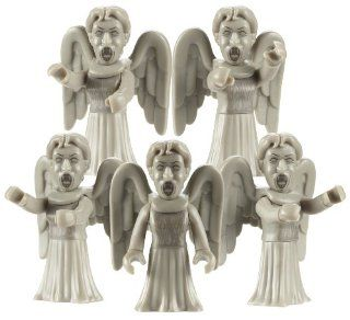 Doctor Who Character Building Weeping Angel Army Builder Pack: Toys & Games