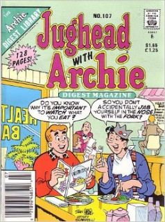 Jughead with Archie, #107 (Comic Digest) ARCHIE DIGEST LIBRARY Books