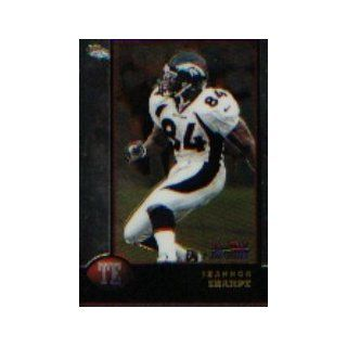 1998 Bowman Chrome #108 Shannon Sharpe: Sports Collectibles