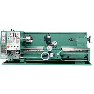 "Bolton Tools 12"" X 30"" Gear Driven Metal Lathe, Comes Complete with Cooling System, Stand, Light, Standard Accessories, 110 or 220 Volt Set Up, 1 1/2 Hp Motor 1 1/2"" Spindle Bore and Full 1 Year Manufacturers Warranty!: Industrial & Scie"