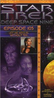 Star Trek   Deep Space Nine, Episode 105: Let He Who Is Without Sin.. [VHS]: Avery Brooks, Rene Auberjonois, Cirroc Lofton, Alexander Siddig, Colm Meaney, Armin Shimerman, Nana Visitor, Terry Farrell, Michael Dorn, Mark Allen Shepherd, Randy James, Judi M.