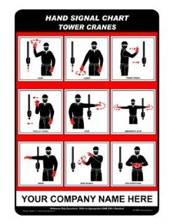 Tower Cranes Sign CRANE 107 Crane Hand Signals: Office Products