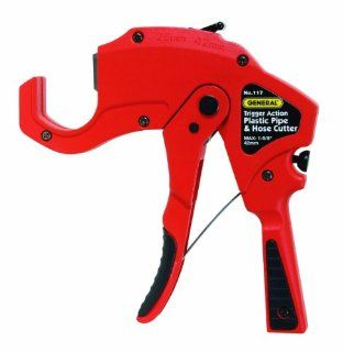 General Tools & Instruments 117 Trigger action Plastic Pipe and Hose Cutter: Home Improvement