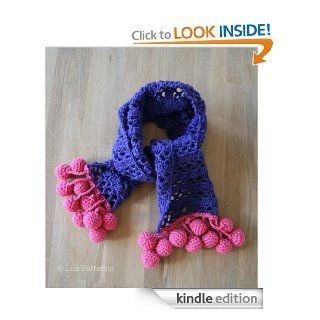 Crochet book, crochet scarf pattern children girls scarf pattern (109) eBook: Luz Mendoza: Kindle Store