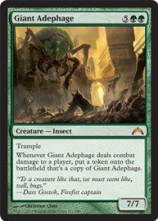 Magic: the Gathering   Giant Adephage (121)   Gatecrash: Toys & Games