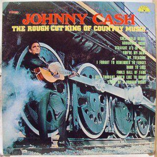 JOHNNY CASH   rough cut king of country music SUN 122 (LP vinyl record) Music
