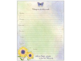 Lang   Perfect Timing Daisy Jumbo Weekly Planner (1083043): Office Products