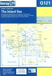 Imray Chart G121 2009: Inland Sea   Ionian: Imray: 9781846231544: Books
