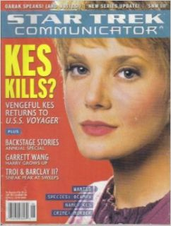 STAR TREK COMMUNICATOR MAGAZINE (April / May 2000   Issue #128) KES KILLS?: Larry Nemecek: Books