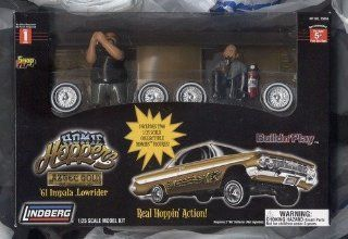 Homie Hoppers * Aztec Gold * 61 Impala Lowrider * Build N Play 1/25 Scale Model: Toys & Games