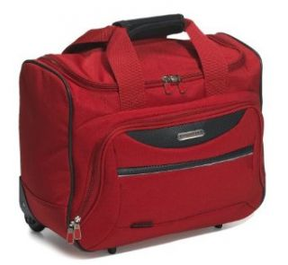 Ricardo Beverly Hills Essentials 16 Inch On Board Rolling Tote, Red: Clothing