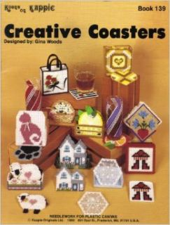 Creative Coasters   Plastic Canvas   Kount on Kappie Book 139: Gina Woods: Books