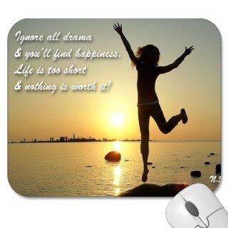 "Mousepad   9.25"" x 7.75"" Designer Mouse Pads   Quotes   Sayings   Inspirational (MPQU 142)"