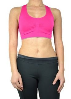 143Fashion Ladies Fashion Sports Bra, Brown, One Size at  Women�s Clothing store
