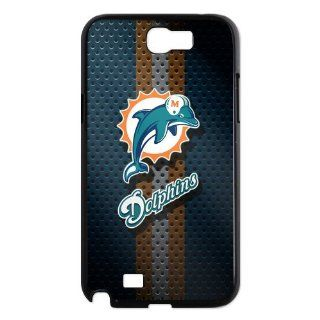 Miami Dolphins rugby team never say die spirit of Samsung Galaxy Note 2 Hard Cover Cases Cell Phones & Accessories