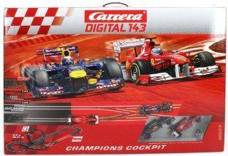 """Carrera Digital 143 Slot Car Race Track Sets   """"Champions Cockpit"""" (40023) Toys & Games"""